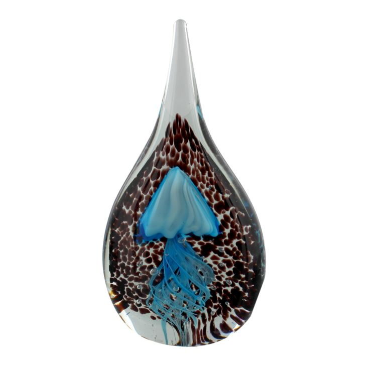 Objets d'art Glass Figurine - Teardrop Jelly Fish product image