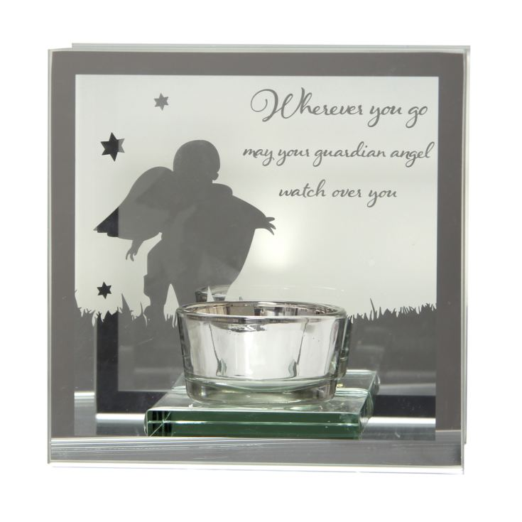 Reflections Of The Heart Guardian Angel Tealight Holder product image