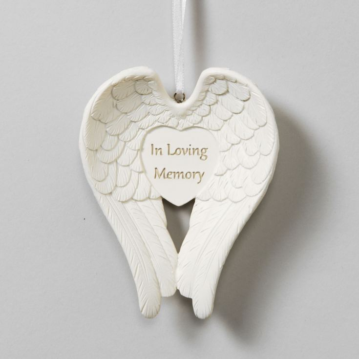 Thoughts Of You 'In Loving Memory' Angel Wings product image