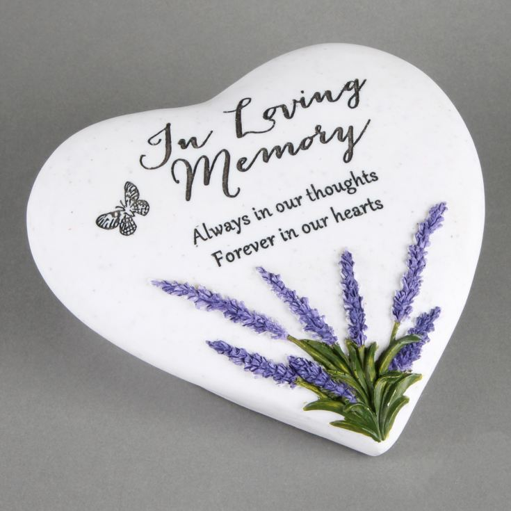 In Loving Memory Thoughts Of You Heart Stone product image