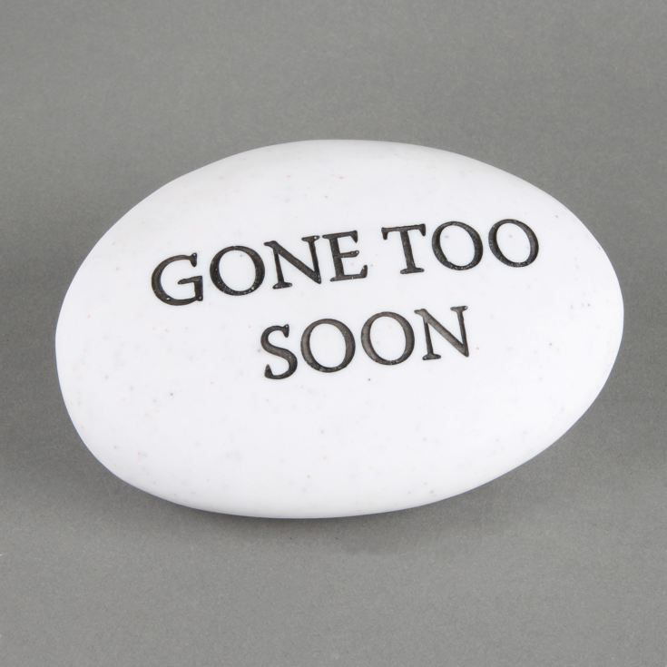 Thoughts Of You 'Gone Too Soon' Memorial Pebble product image