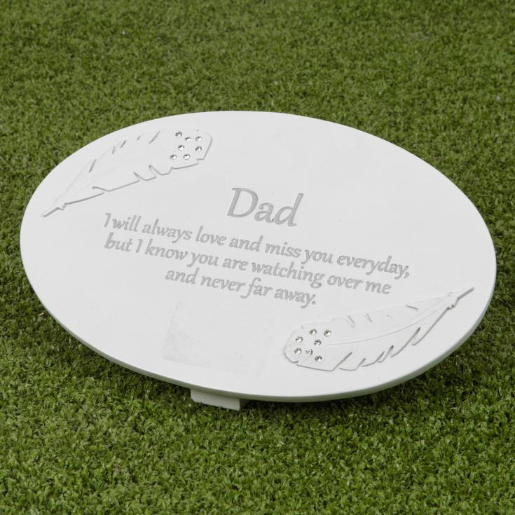 Thoughts of You Resin Memorial Plaque - Dad product image