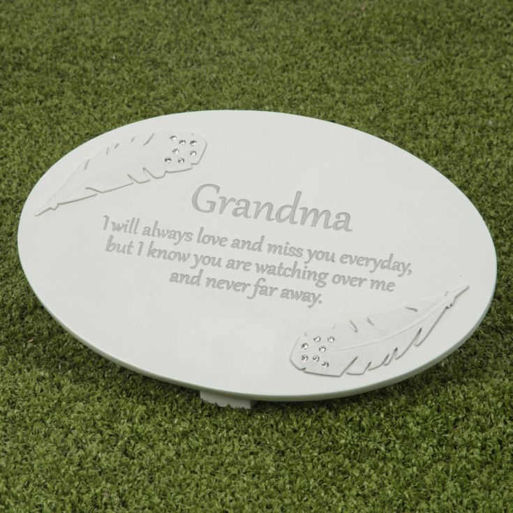 Thoughts of You Resin Memorial Plaque - Grandma product image
