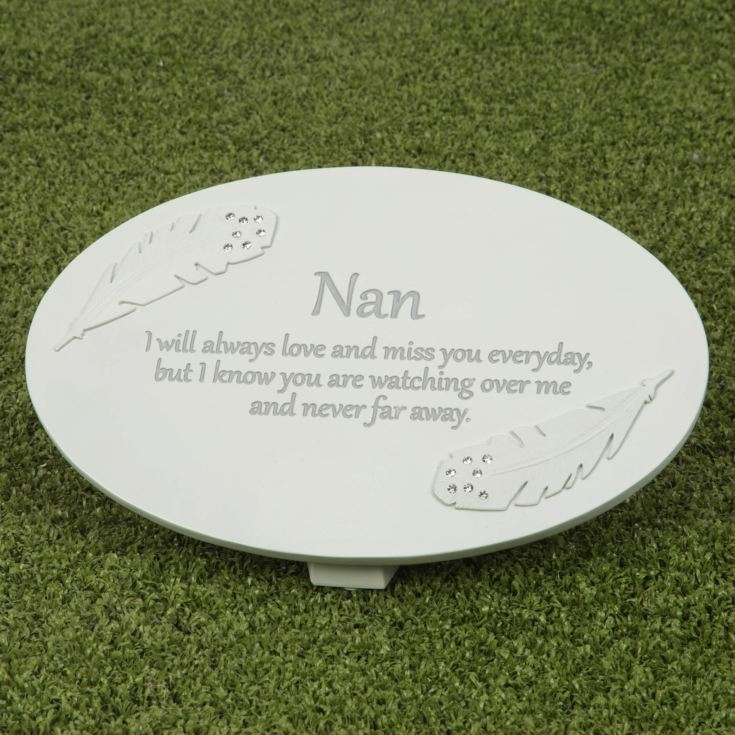 Thoughts of You Memorial Plaque - Nan product image