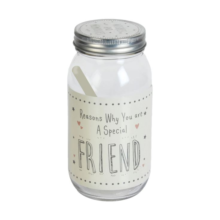 Love Life Glass Wish Jar - Special Friend product image
