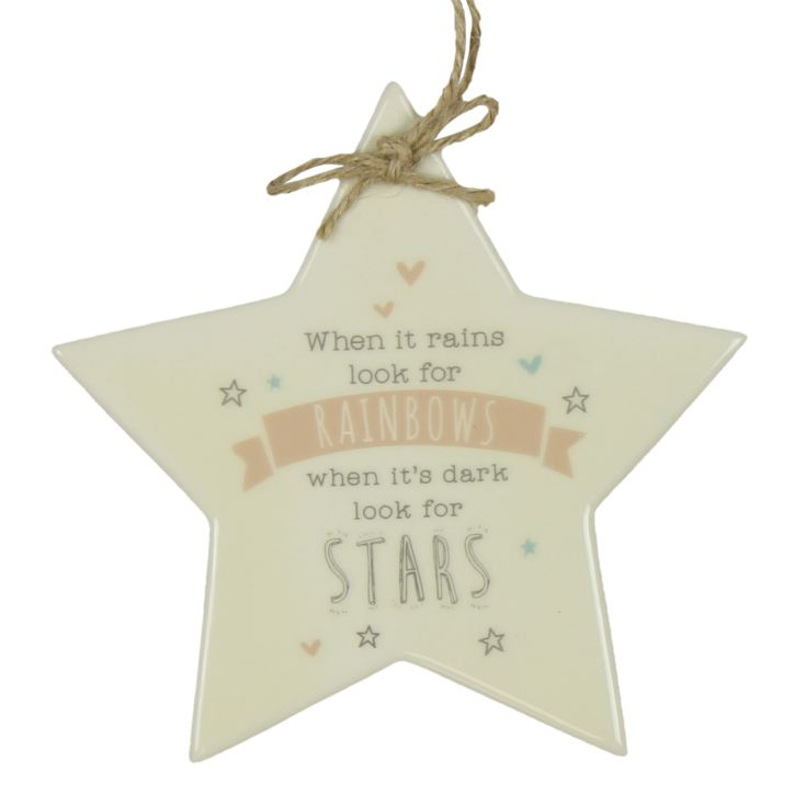 Love Life Star Plaque - When It Rains product image