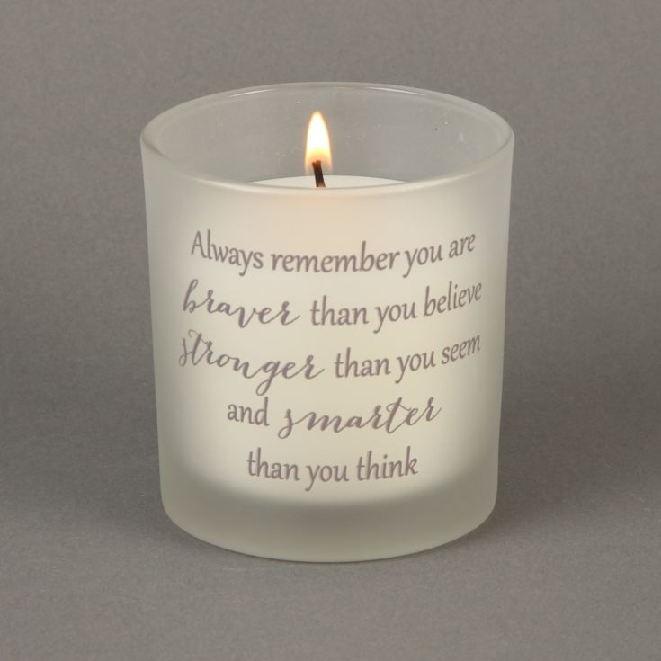 Thoughts of You 'You Are Brave' 150g Candle product image
