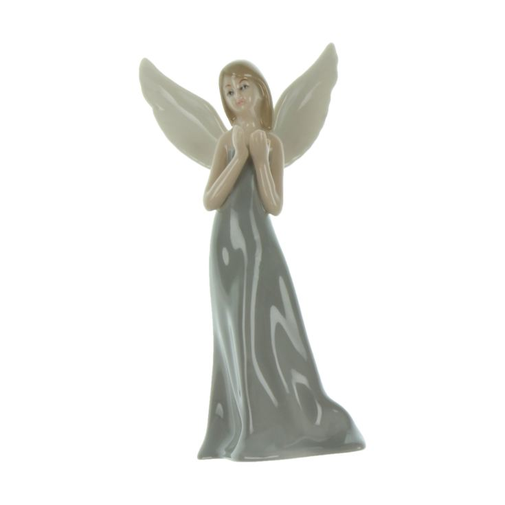 Enchanted Fairy in Grey Dress Figurine 17cm product image