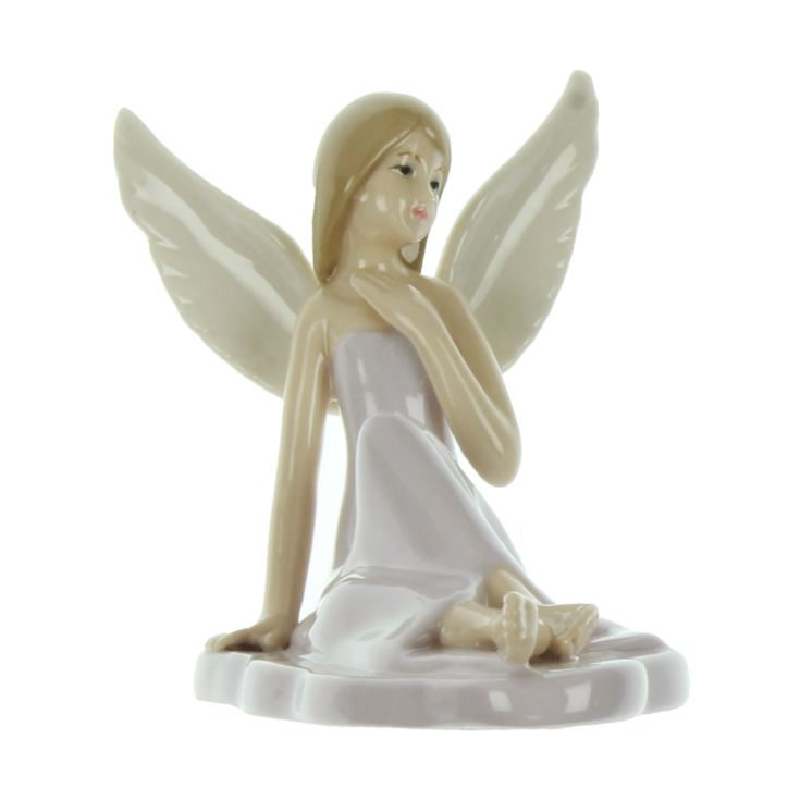 Enchanted Fairy in Grey Dress Figurine 11cm product image