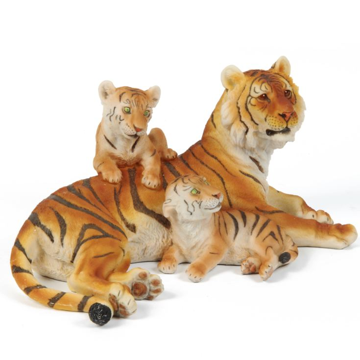 Naturecraft Collection Resin Figurine - Tiger Family product image
