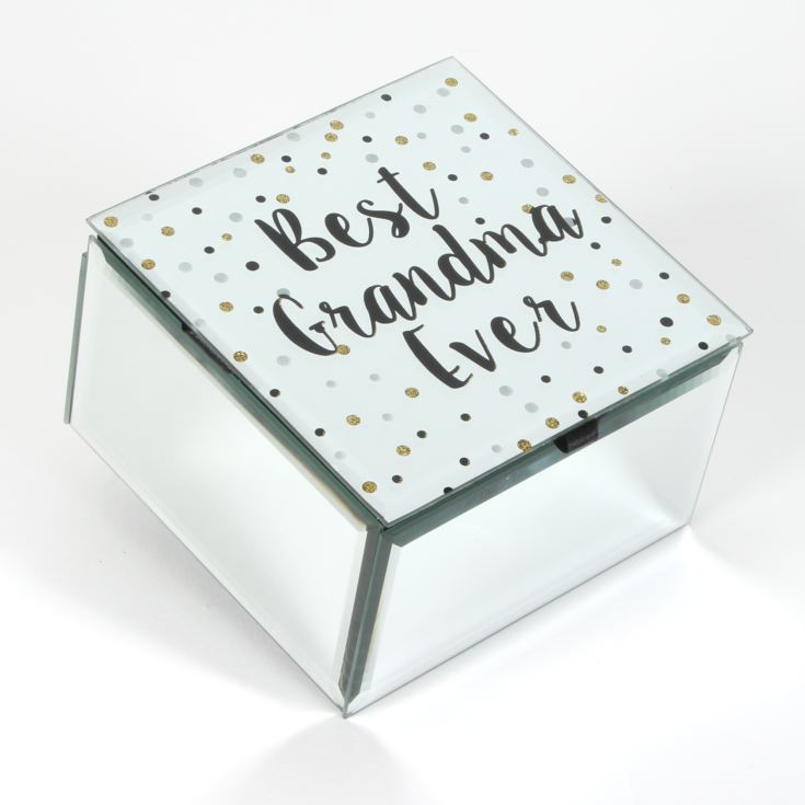 Celebrations Best Grandma Ever Glass Trinket Box product image