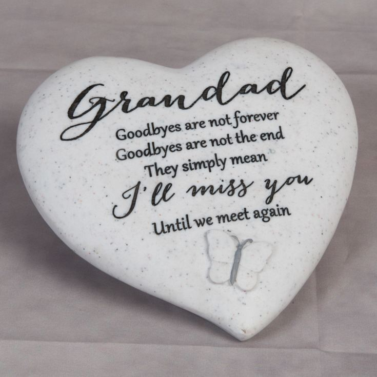 Thoughts Of You 'Grandad' Graveside Heart product image