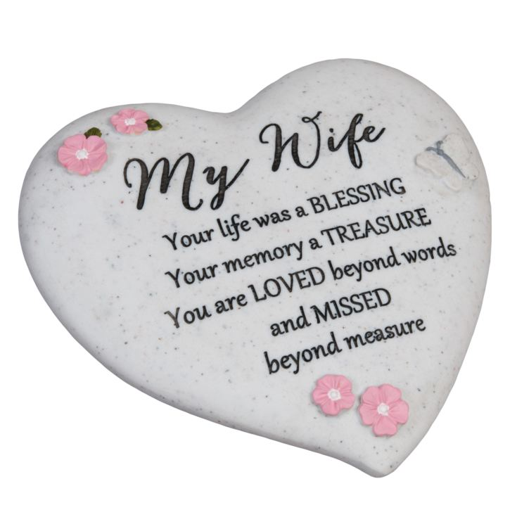 Thoughts Of You 'Wife' Graveside Heart product image