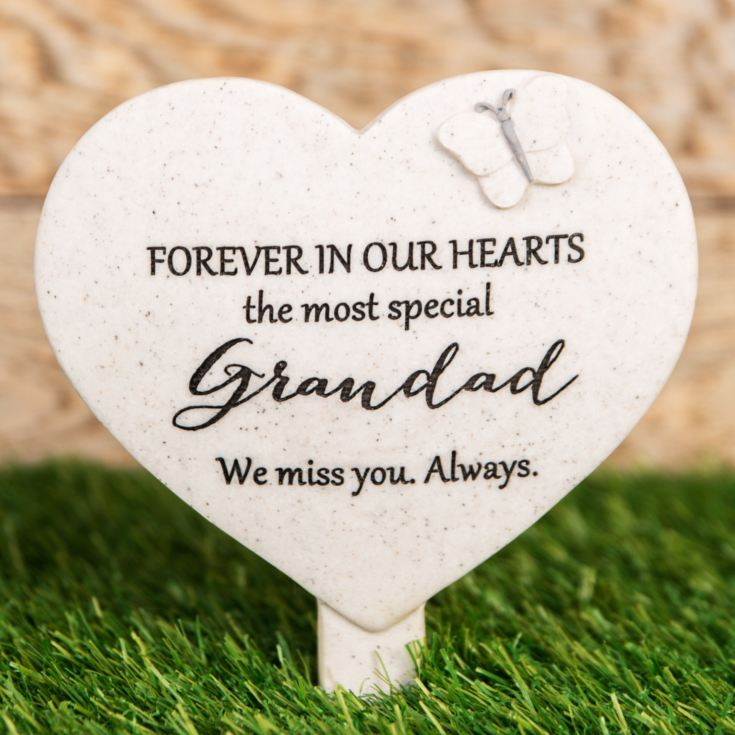 Thoughts Of You 'Grandad' Graveside Stake product image