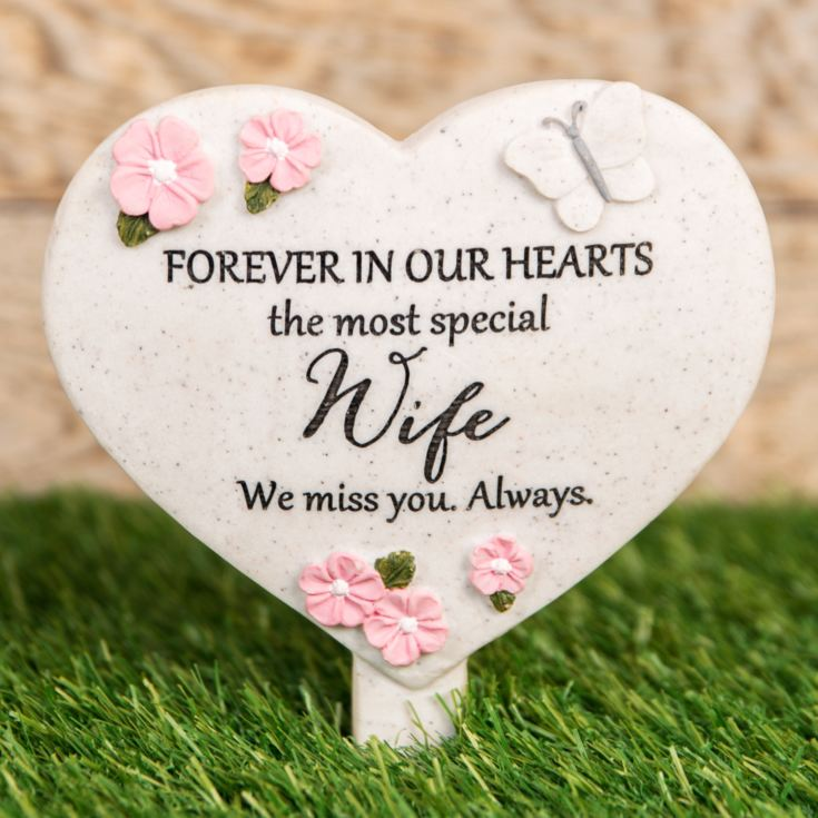 Thoughts Of You 'Wife' Graveside Stake product image