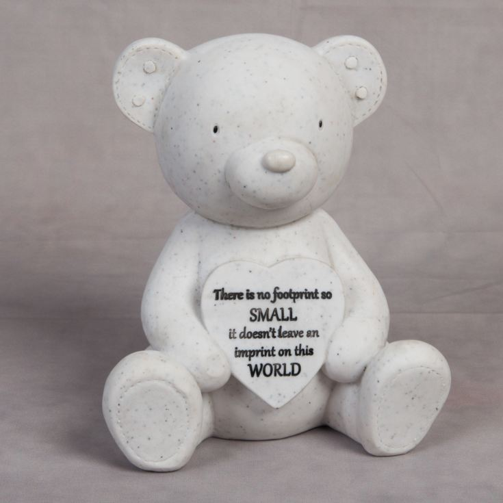 Thoughts Of You Graveside Teddy & Heart product image
