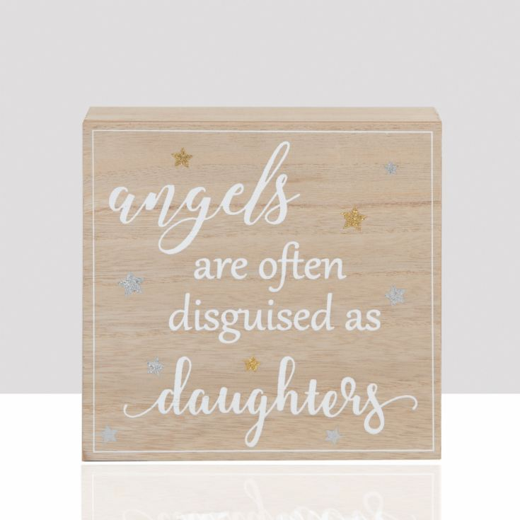 Thoughts of You Mantel Plaque - Angels Are Often product image