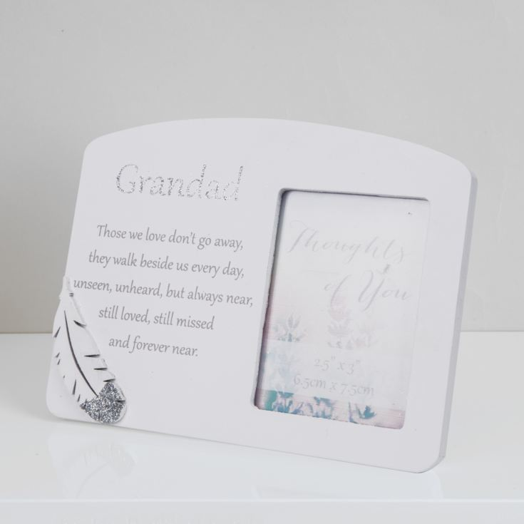Thoughts Of You Memorial Frame - Grandad product image