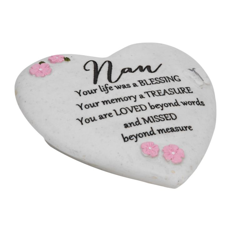 Thoughts of You Graveside Heart - Nan product image