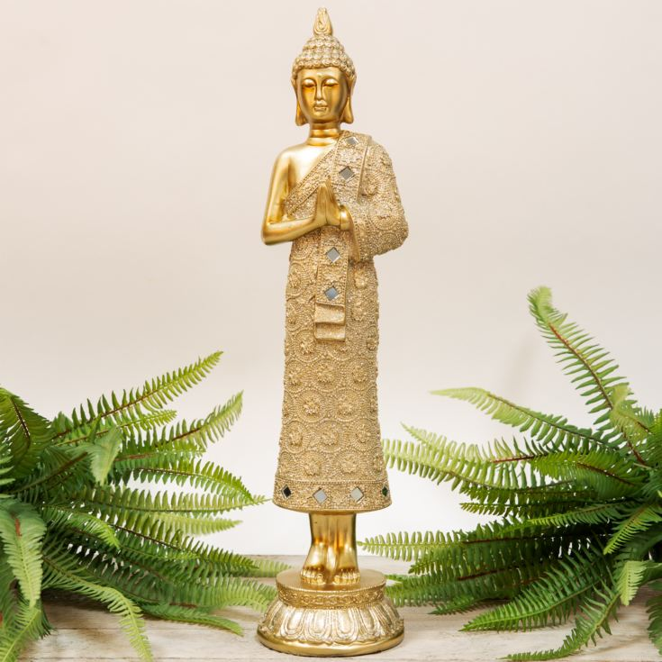 Gold Thai Buddha Figurine - 45cm product image