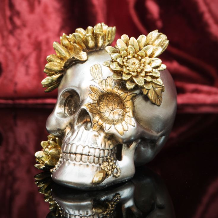 Day Of The Dead - Skull Figurine - 15cm product image