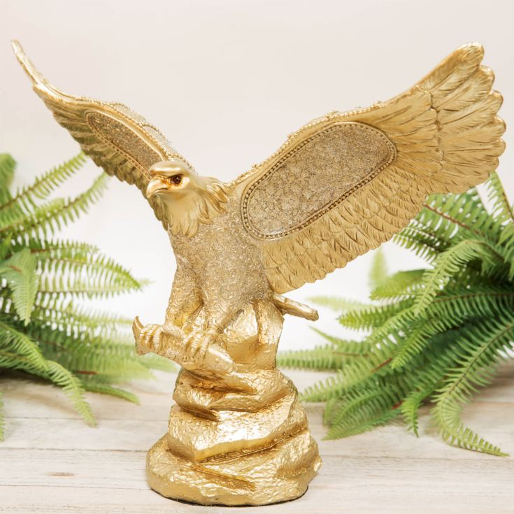 Gold Eagle Figurine 29.5cm product image