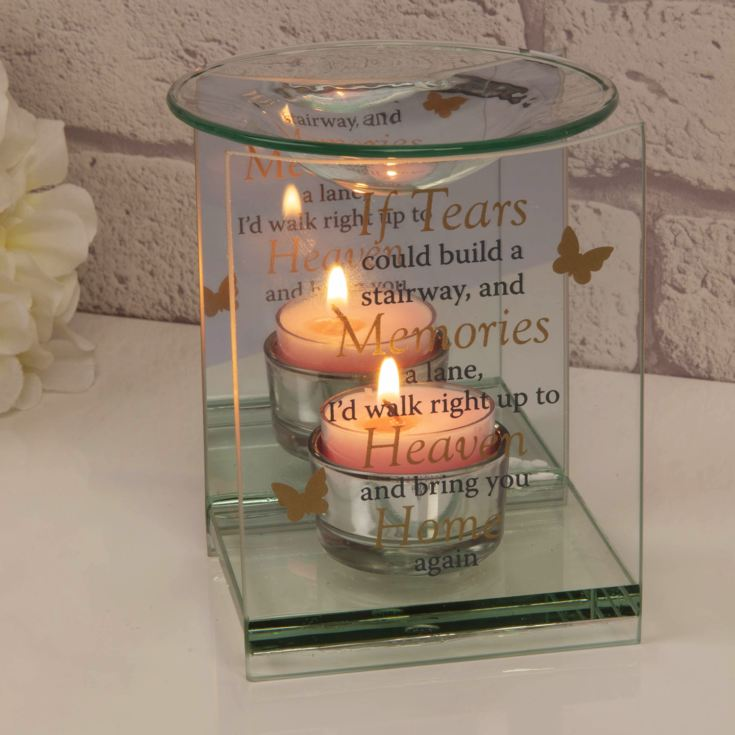 Thoughts of You Butterfly Oil Burner - Stairway to Heaven product image