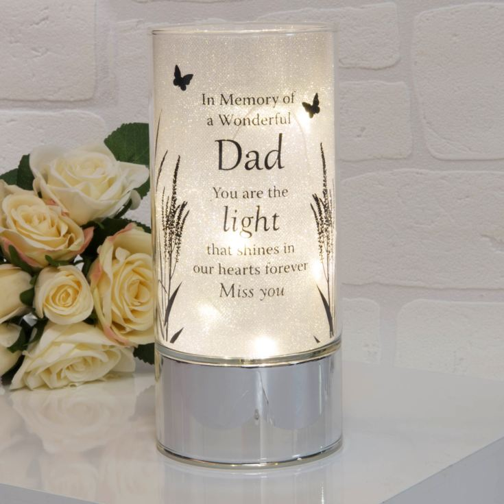 Thoughts of You Memorial Tube Light - Dad product image