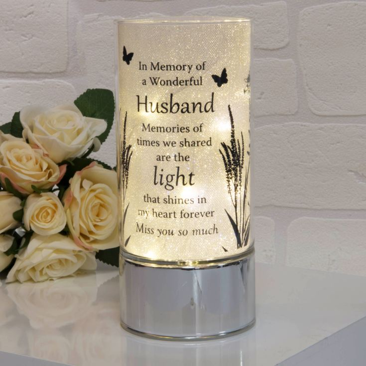 Thoughts of You Memorial Tube Light - Husband product image