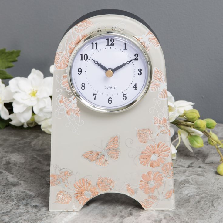 Sophia Rose Gold Collection Mantel Clock product image