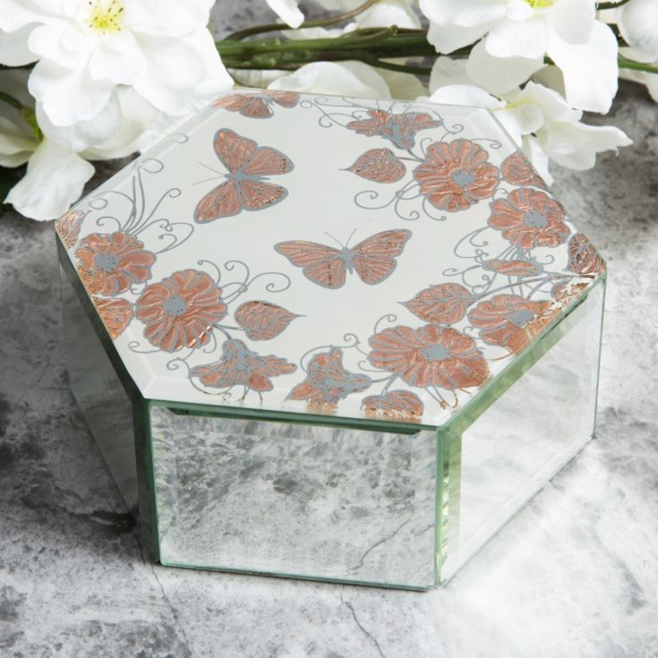 Sophia Rose Gold Collection Trinket Box product image