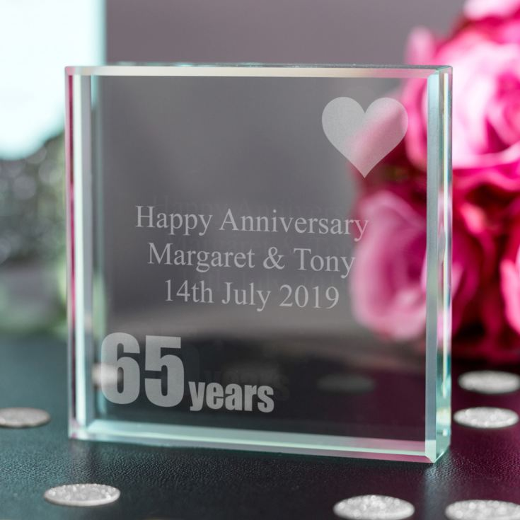 65th (Blue Sapphire) Anniversary Keepsake product image