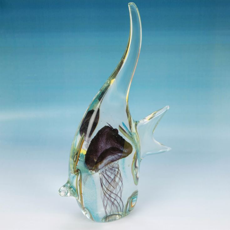 Objets d'Art Handmade Glass Figurine - Angelfish product image