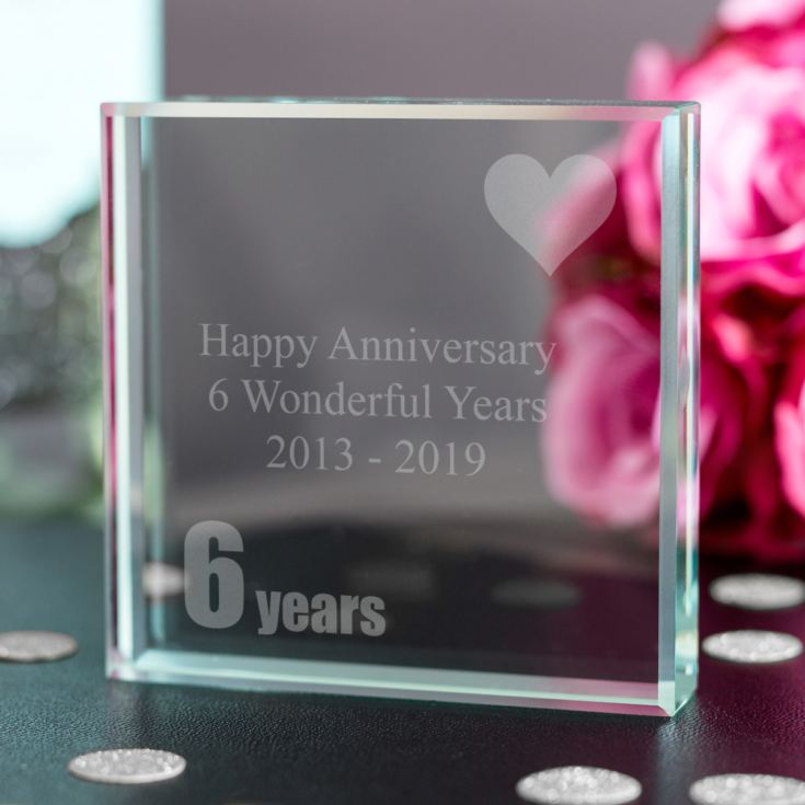 6th (Iron) Anniversary Keepsake product image