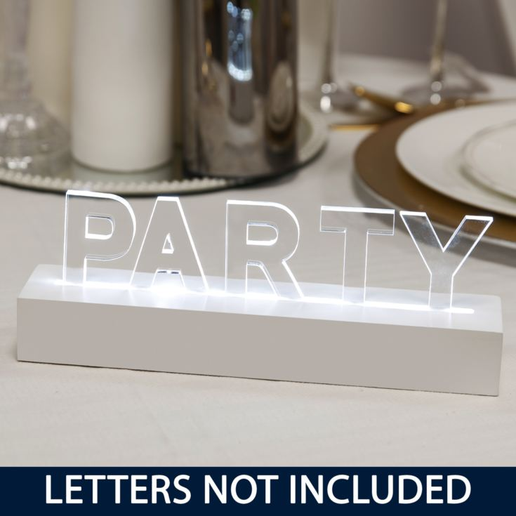 Say It In Lights Power Bar - White LED Lights 25cm product image