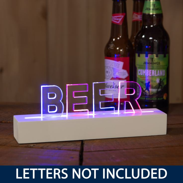 Say It In Lights Power Bar - Colour LED Lights 25cm product image