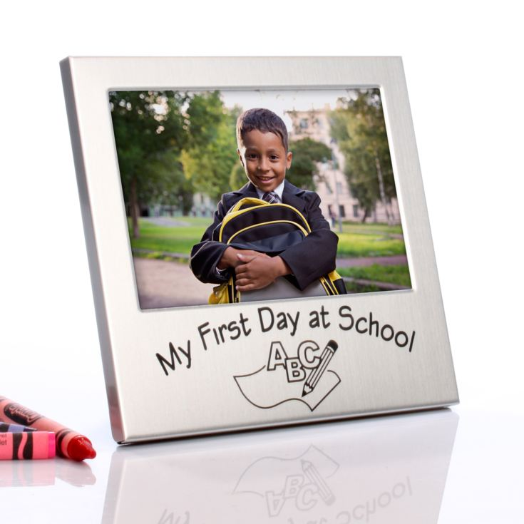 My First Day at School Frame product image