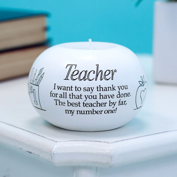 Sentiment Teacher Tealight Holder product image