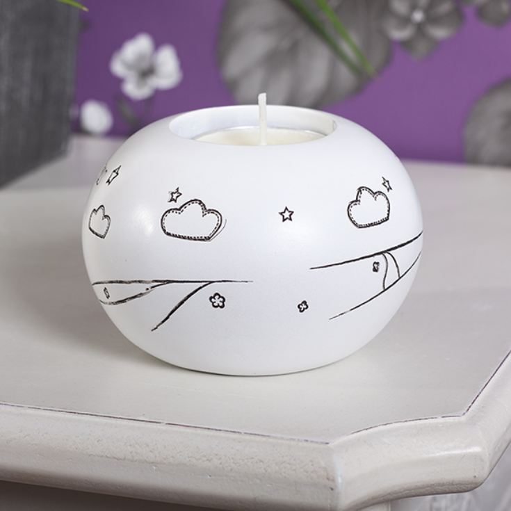 Follow Your Dreams Tea Light Candle Holder product image