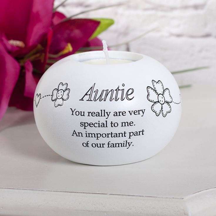 Auntie Tea Light Candle Holder product image