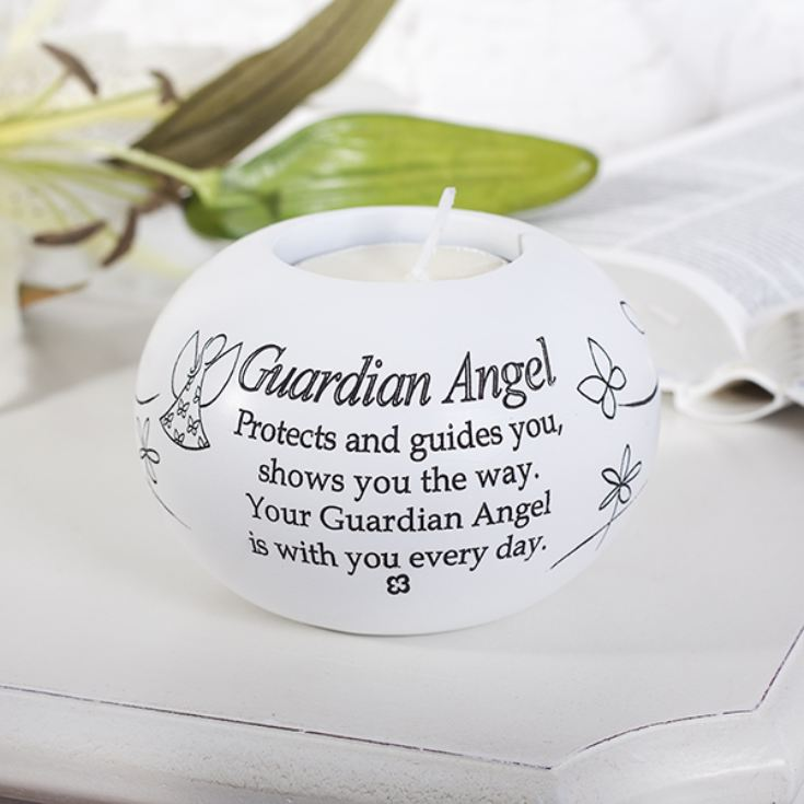 Guardian Angel Tea Light Candle Holder product image