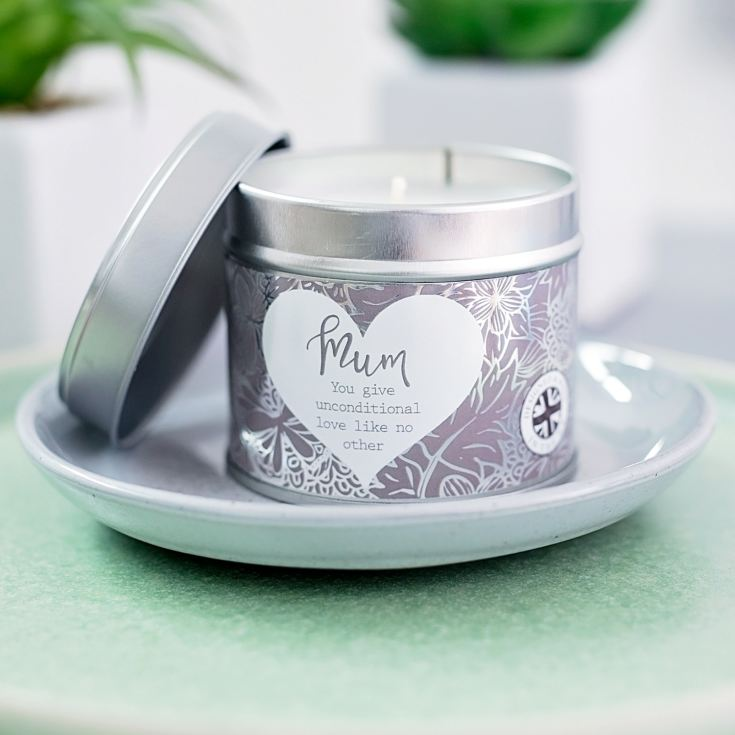 Said With Sentiment Mum Candle In A Tin product image