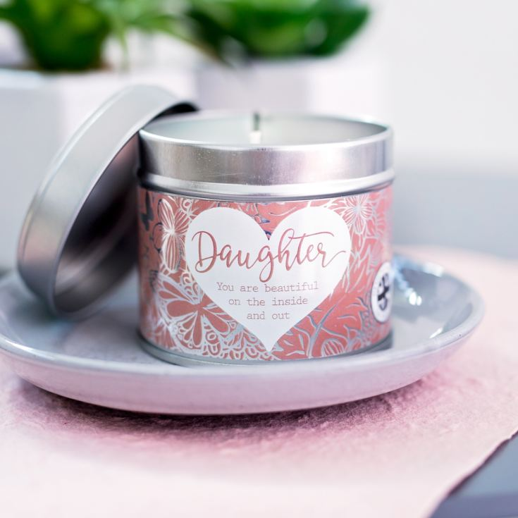 Said With Sentiment Daughter Candle In A Tin product image