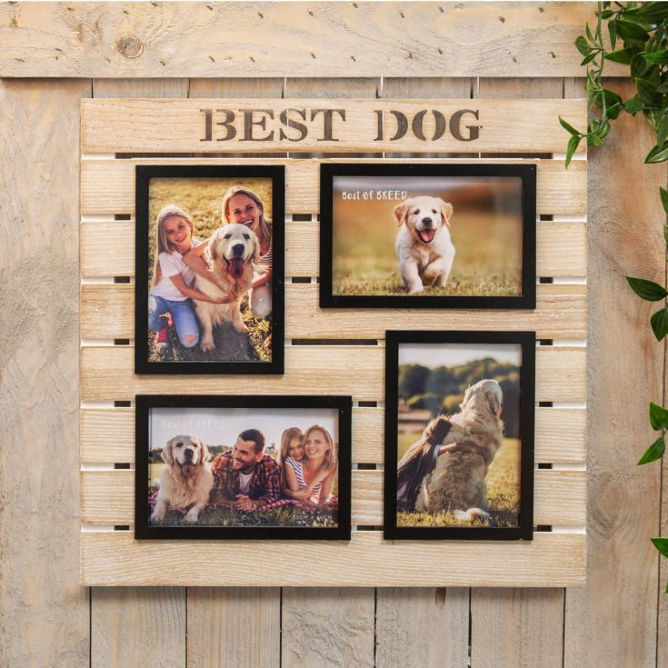 Best of Breed Wooden Collage Frame - Best Dog product image