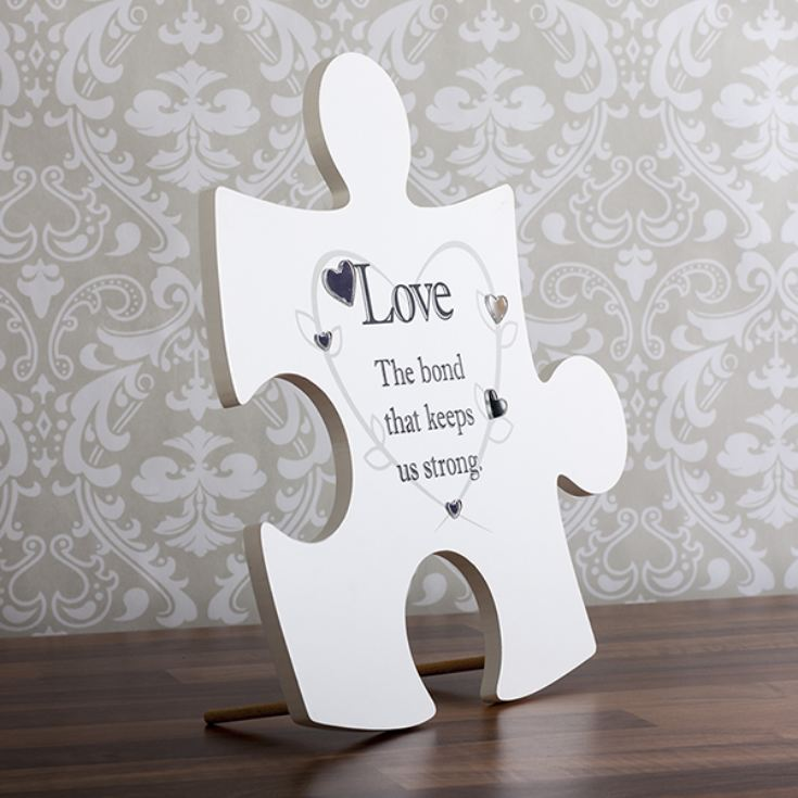 Love Jigsaw Hanging Wall Art product image