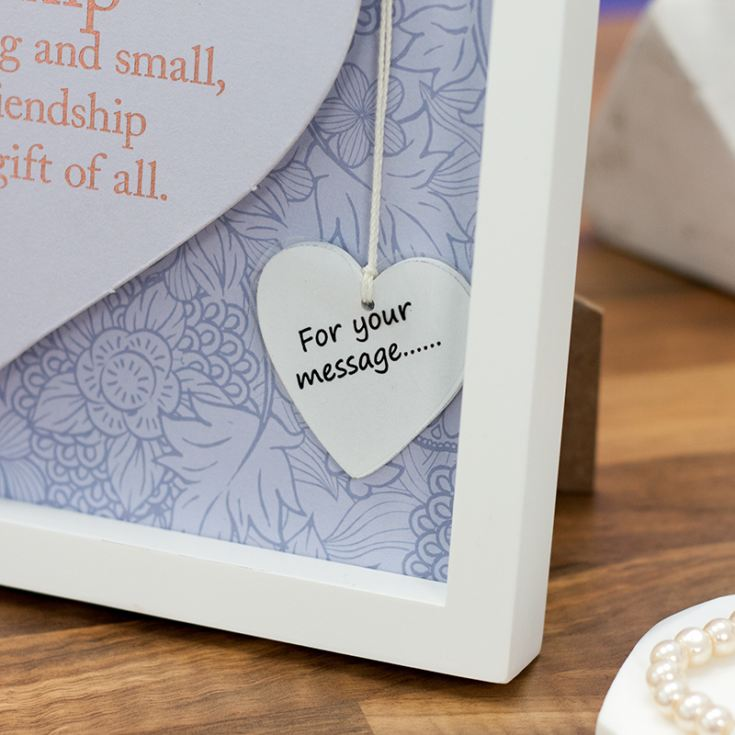 Heart Frame by Said With Sentiment Brand New Wall Art Friendship