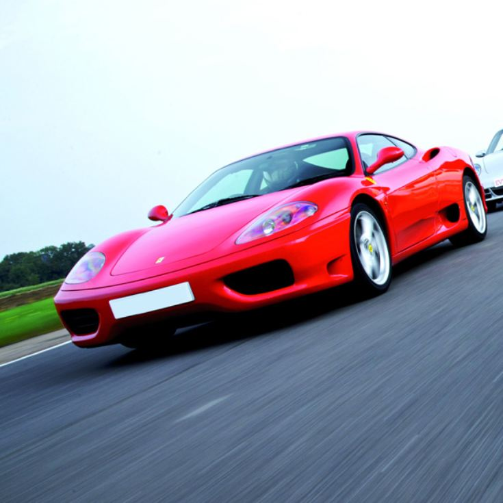 Double Supercar Thrill with Free High Speed Passenger Ride - Special Offer product image