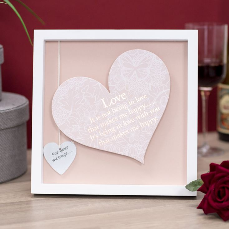 Love Sentiment Heart Art Frame product image