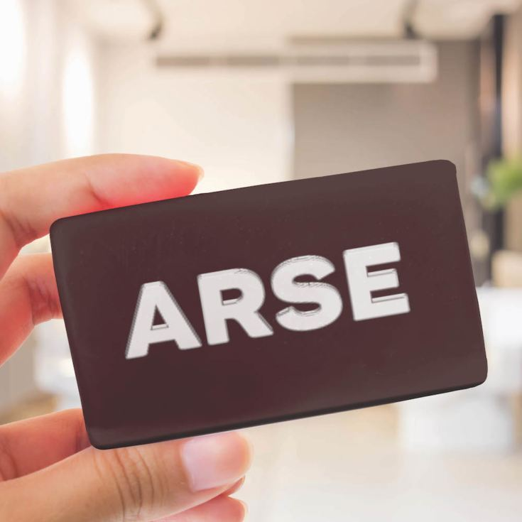 Arse Face Soap Bar product image