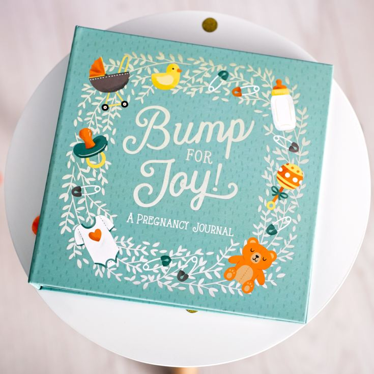 Studio Oh! Guided Pregnancy Journal, Bump for Joy! product image